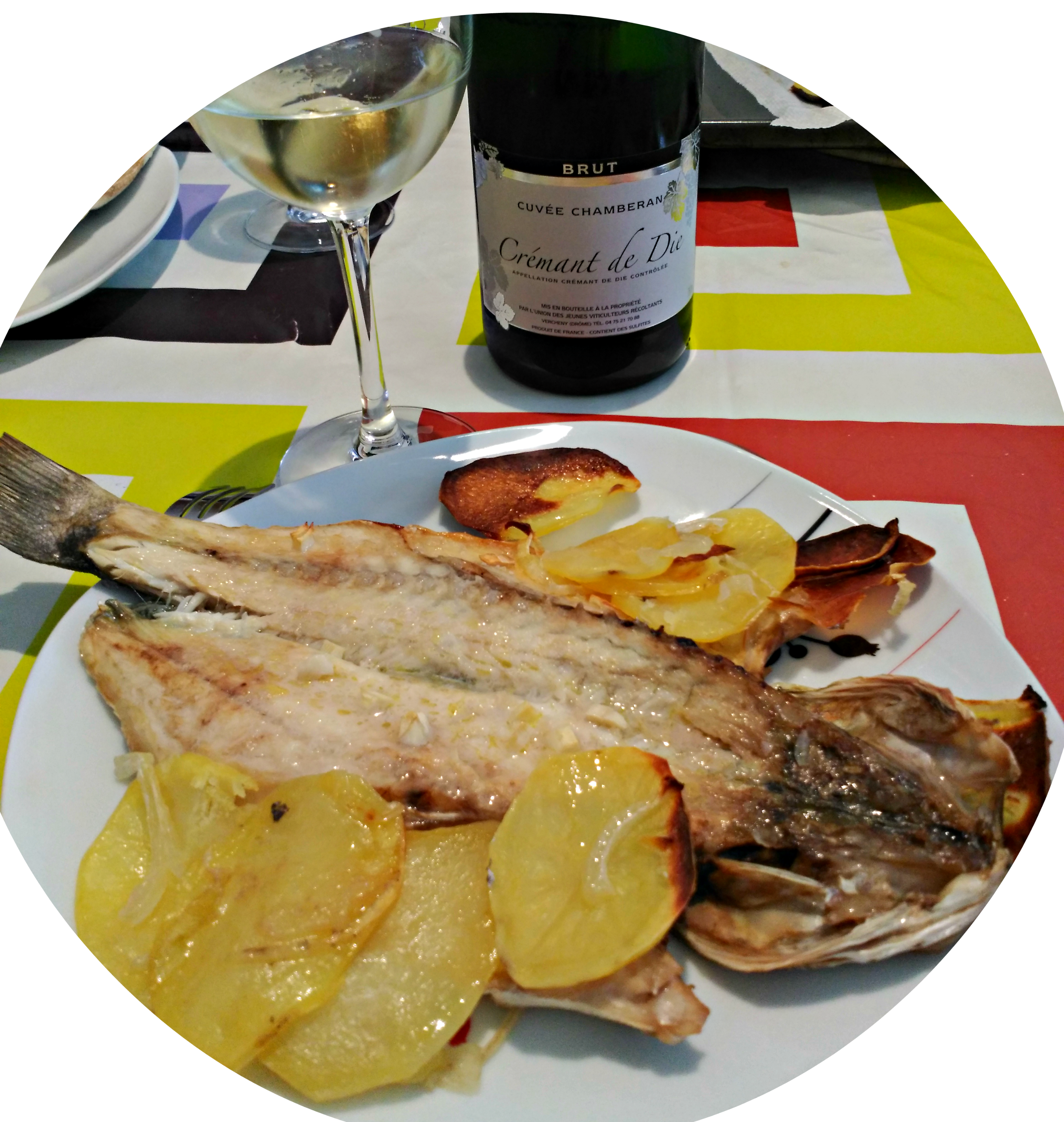 Poisson d'avril: accord met et vin