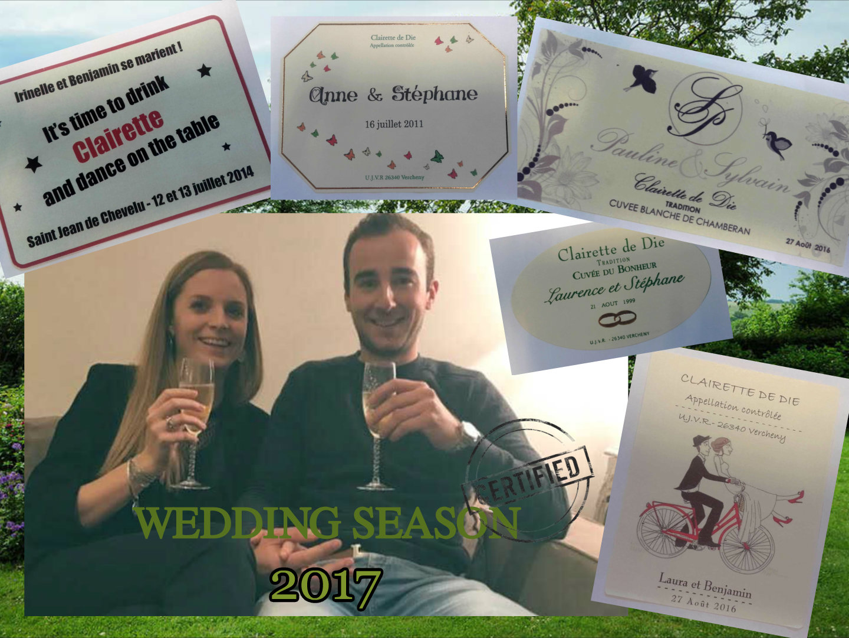 La saison des mariages commence.